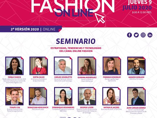 Descubre las presentaciones de los speakers de Fashion Online 2020